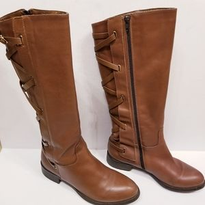 Arctica Browns Exclusive Leather Lace-Up Boots